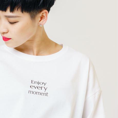 Enjoy every moment オーバーサイズTシャツ 【TOKYO FANTASTIC】