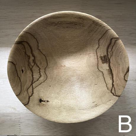 木のボウル(カシ)・前田洋工作室