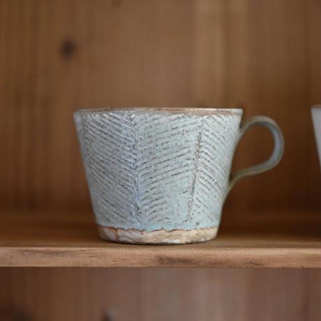 ヘリンボーンマグカップ・堂本正樹