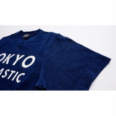 【インディゴ染め】TOKYO FANTASTIC ブランドロゴ Tシャツ
