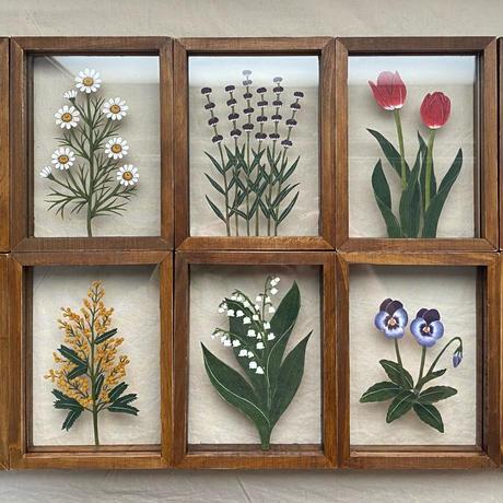 紙の花屋 asanochiaki「ミモザ」