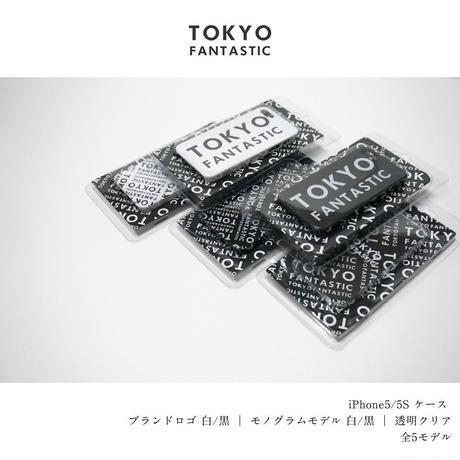 TOKYO FANTASTIC iPhone5/5S ケース ロゴモノグラムモデル 白 or 黒