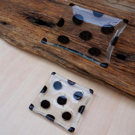 ドットガラス豆皿 TOKYO FANTASTIC× Glass & Art MOMO
