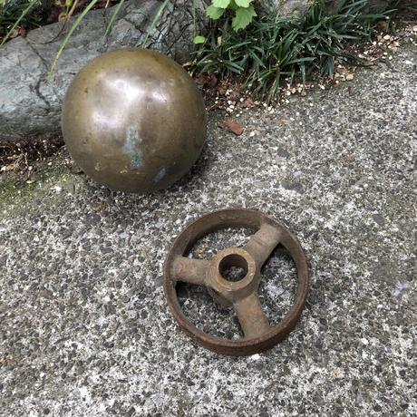 真鍮 球体