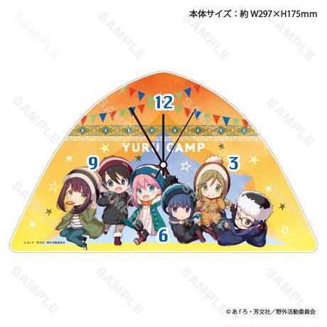 ゆるキャン△SEASON2 テント型壁掛け時計