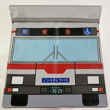座れる収納BOX(東急バス)