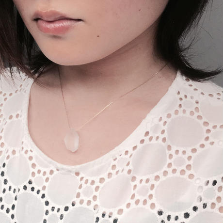 bisoa KACHIWARI necklace white