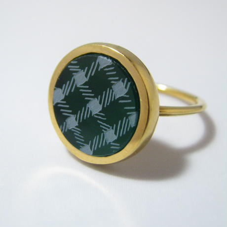 bisoa Plaid Ring