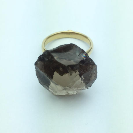 bisoa KACHIWARI RING smoky