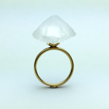 bisoa KACHIWARI RING white