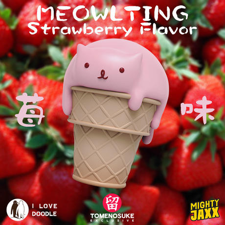 Meowlting Strawberry Flavor Tomenosuke Exclusive by I Love Doodle