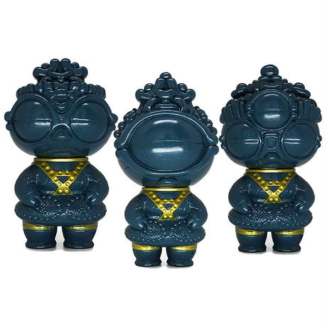 Tomenosuke Exclusive Shakokitachi Set of 3 by Science Patrol