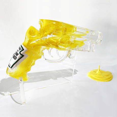 Yellow Mustard Blaster by Sket-One
