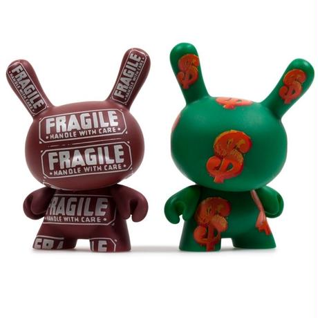 Warhol Dunny Series 2.0  (a case with 24 pieces)