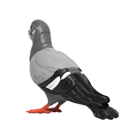 Grin Pigeon Mono Edition by Staple X Ron English