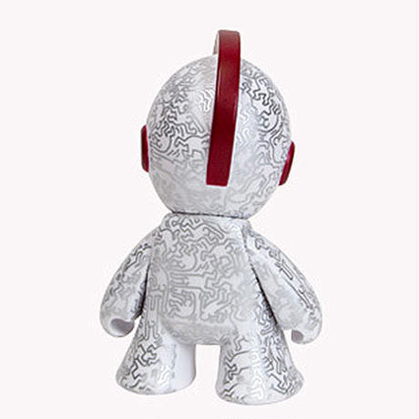 Kidrobot x (RED) x Keith Haring Mascot Art Toy 7-Inch