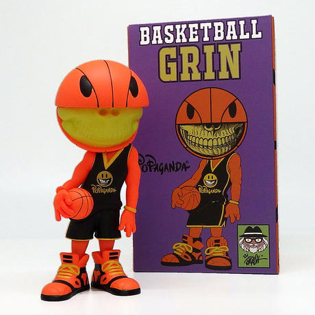 Basketball Grin by Ron English