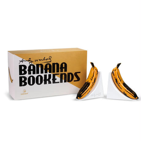 Andy Warhol Resin Banana Bookends