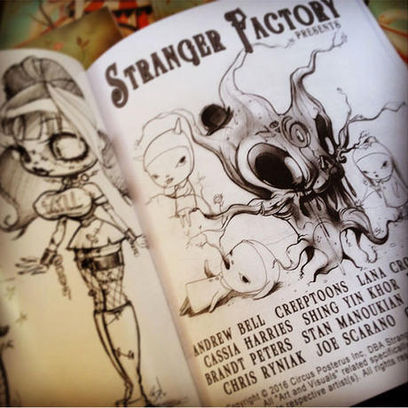 Stranger Factory Coloring Book