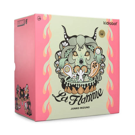 parallel import / La Flamme 8-inch Dunny Ice Edition