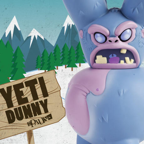 Yeti 8-inch Dunny by Pause Designs