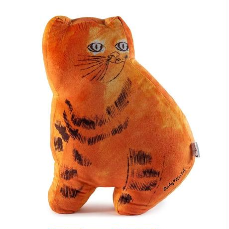 Andy Warhol Orange Sam the Cat Plush