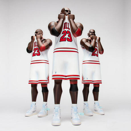 """XL Three King: Two Three """"WHITE"""" by Fools Paradise"""