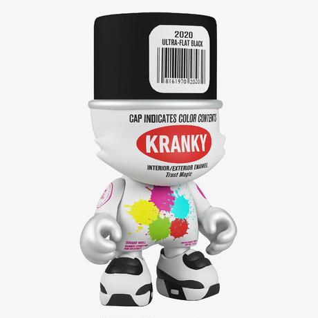 Ultra-Flat Black SuperKranky by Sket One