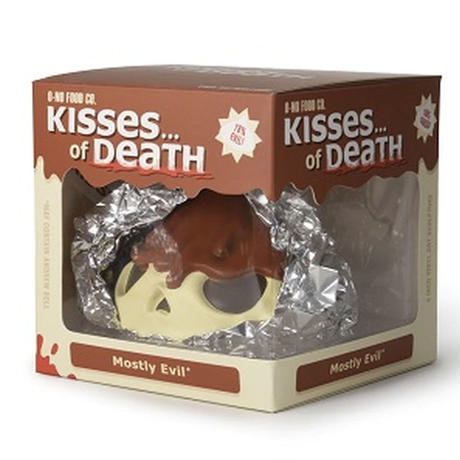 "4"" Skull Kisses of Death Standard Edition by Andrew Bell"