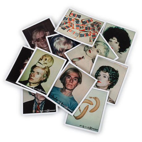 Andy Warhol Polaroid Print Set