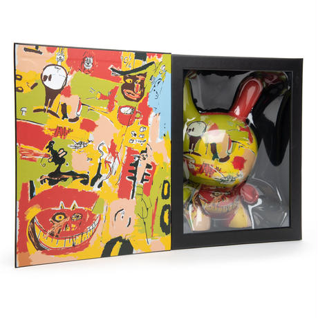 "Jean-Michel Basquiat 8"" Masterpiece Dunny - Wine of Babylon"