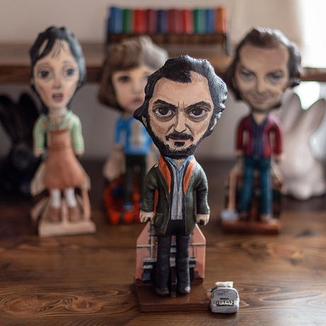"Stanley Kubrick a director of ""The Shining"" art doll by dddalina"