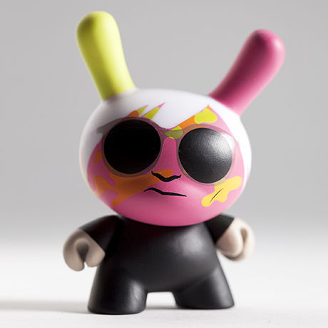 Andy Warhol Camouflage Self-Portrait from Warhol Dunny Mini Series