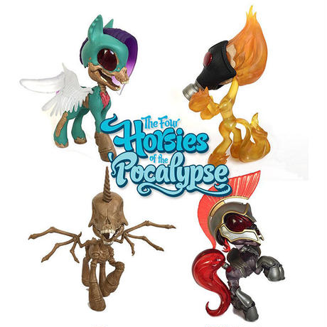 Four Horsies of the Pocalypse 4-Pack