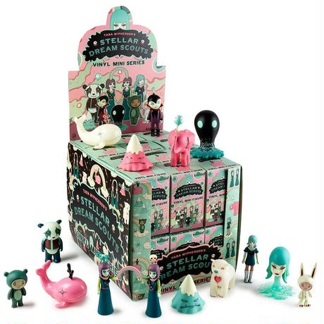 Stellar Dream Scouts Mini Figure Series by Tara McPherson (a case with 24 pieces)
