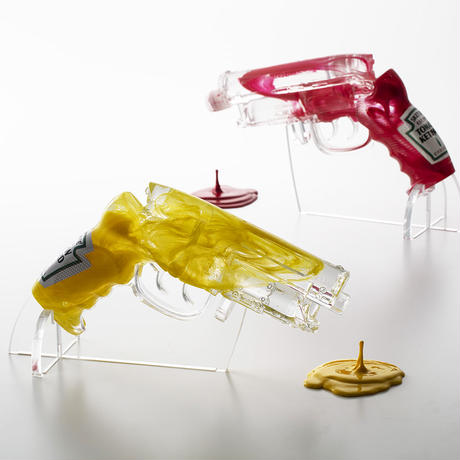 Yellow Mustard Blaster by Sket-One