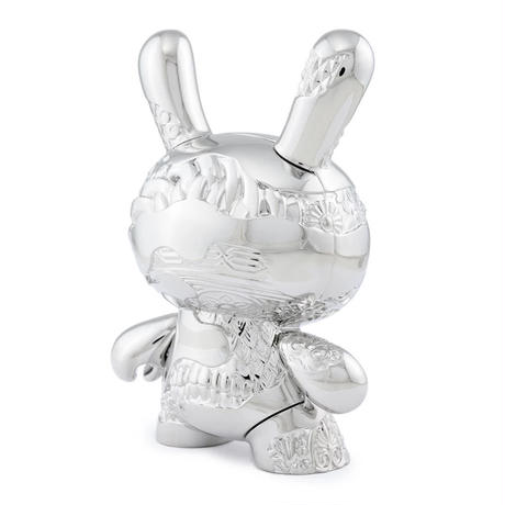 "5"" New Money Metal Dunny by Tristan Eaton"
