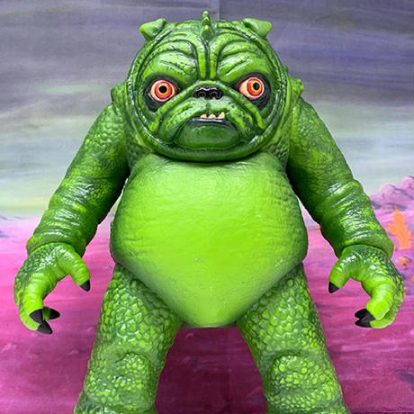 The Pugloo From Planet P vinyl figure by Adam Dougherty