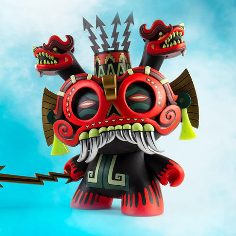 """parallel import / 8"""" Tlaloc Dunny by Jesse Hernandez"""