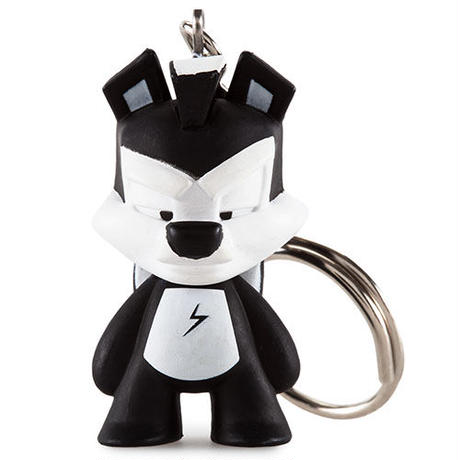 """Pepe Le Pew from Looney Tunes 1.5"""" Keychain Series"""