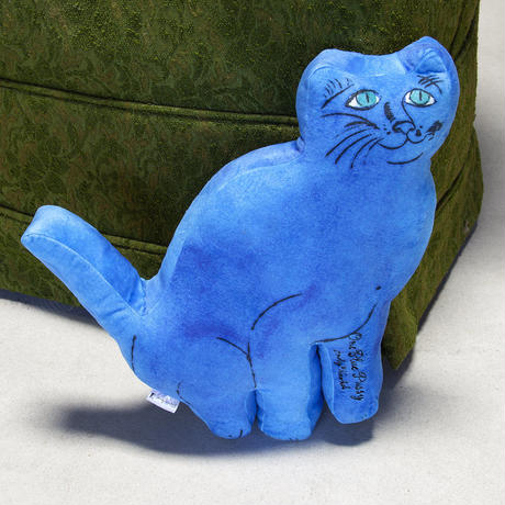 Andy Warhol One Blue Pussy Cat Plush