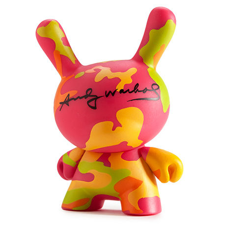 Camouflage from Warhol Dunny Mini Series