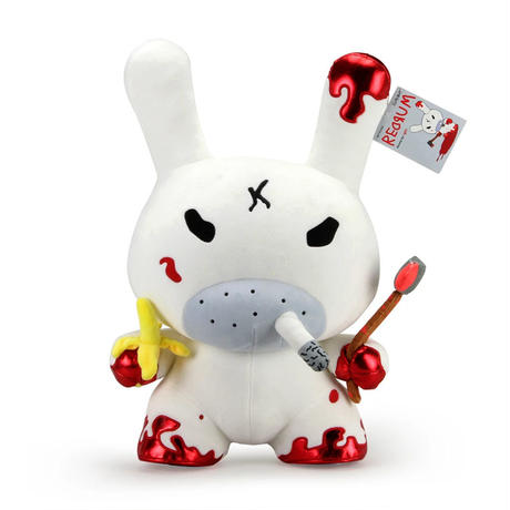 "20"" Plush Red Rum Dunny by Frank Kozik"