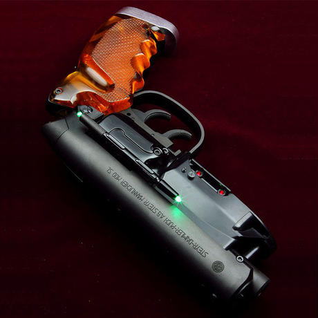Green LED Lazer Sight for Tomenosuke Blaster by Kazuhiko Sato