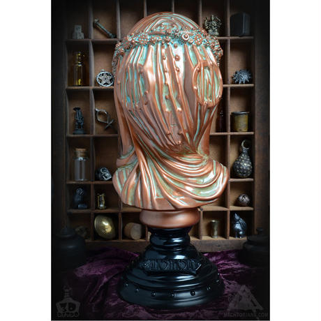 Anesthesia Bust bronze version By Doktor A