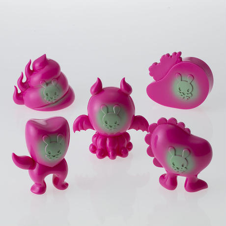 Junkonotomo HappyPink edition Set of 5 by Junko Mizuno