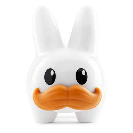 "White 10"" Stache Labbit by Kozik"
