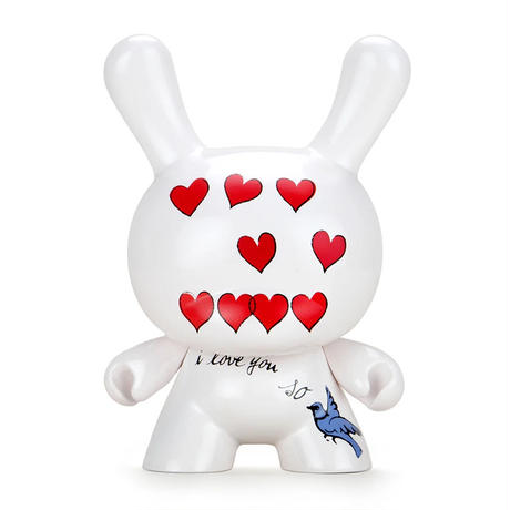 """parallel import / Andy Warhol 8"""" Masterpiece """"I Love You So"""" Dunny"""