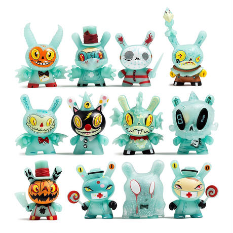 The 13: The Horror Comes Slithering Back Dunny Series (a case with 20 pieces)