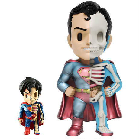 XXRAY Plus Superman by Jason Freeny